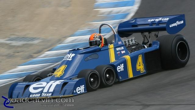 Tyrrell, equipe histórica de Formula 1 de 1976 - by roadcarvin.com