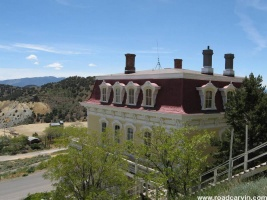 Mansion in downtown Virginia City.: One of the  beautiful restored mansions in Virginia City from the late  1800s.