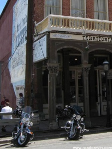 Mark Twain museum in Virginia City.