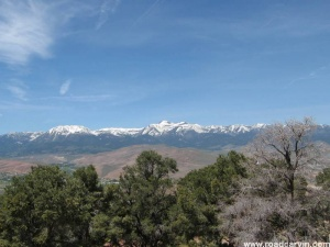 Mountains from Virginia City