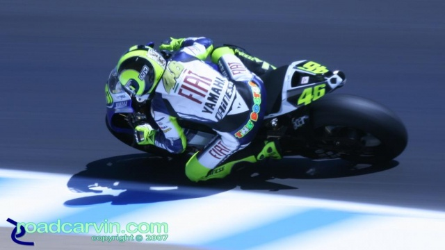 2007 Red Bull U.S. Grand Prix MotoGP - Valentino Rossi (1/80th)
