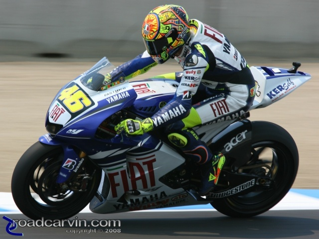 2008 MotoGP - Valentino Rossi - Saturday Qualifying