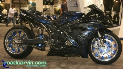 2007 Cycle World IMS - Yamaha R1 Custom Drag Bike- Side