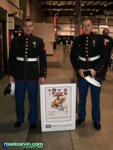 Toys for Tots at IMS San Mateo