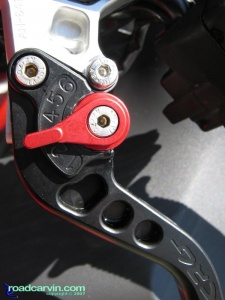 CRG Clutch Lever - Closeup Detail