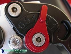 CRG Brake Lever - Closeup Roll-A-Click