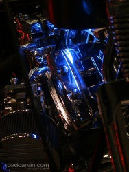 2008 Easyriders Show - Neon Lights Highlight Evo Motor
