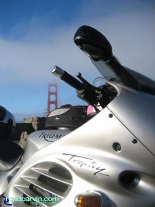 NorthStar Moto Tours - North Coast - Golden Gate Bridge