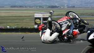 Daytona SportBike - Saturday Crash (5)