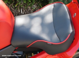 Sargent Cycle (top view): The fit and finish of the Sargent Cycle seats are excellent.