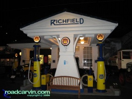 1930's Richfield Station: An example of a 1930's Richfield gas station.