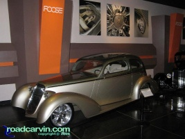 Foose Gallery: One of the beatiful cars in the Chip Foose Gallery. There were also many design drawings and sketches.