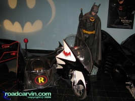 Bat Cycle: As part of the Bat Man display they have the Bat Cycle.