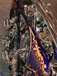 2008 Arlen Ness Bike Show - Arlen Ness Double Engine - Top