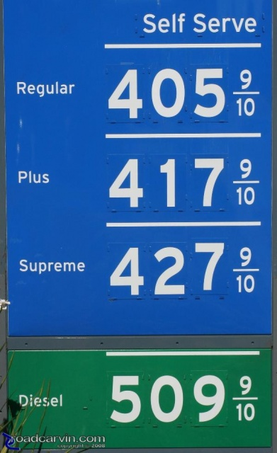 Holiday Fuel Prices