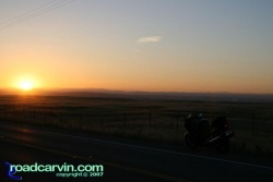 Friday Photo - Sunrise on Grant Line Road (II)