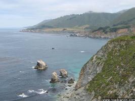 Looking towards Carmel: Looking Norht on the Big Sur Coastline towards Carmel.