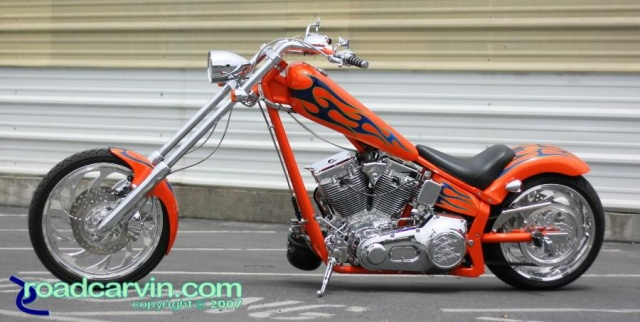 Orange Texas Chopper - Side