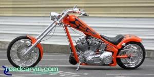 Orange Texas Chopper - Side