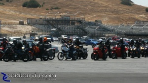 2008 AMA Test - Motorcycle Parade Lap