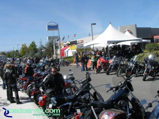 Reno Harley-Davidson scene