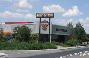 Reno Harley-Davidson/Buell - Front: The view from Market Street and hwy 395