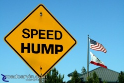 Friday Photo: Speed Hump - Warning or Command?