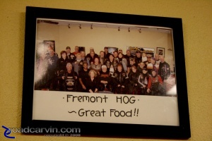 H.O.G. Lovers Love BBQ: Fremont H.O.G. approves!