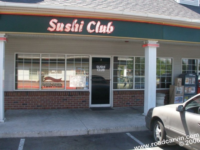 The Sushi Club - Reno - Outside