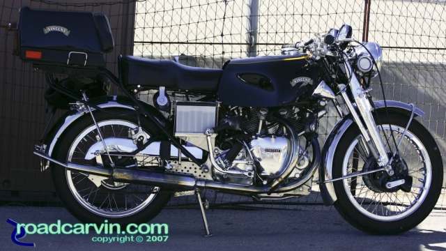 Friday Photo - Vincent at 2007 Rolex Monterey Historic